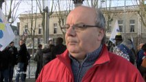 Manifestation des professeurs à La Roche-sur-Yon
