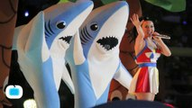 Katy Perry's Super Bowl Sharks Score First Commercial as 'Left Shark' Seller Enters Copyright Battle