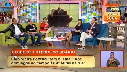 Sintra Football - A Jogar e a Ajudar -  Apoia o Filipe no Agora Nós
