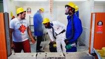 «C'est quoi ce chantier?» L'amiante c'est pas une mascarade!