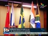 Brasil: grupo BRICS debate sobre temas de desarrollo social