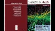 Les matinées du CGEDD : Métropoles et Territoires (1) - Introduction D'Alain Lecomte (aménagement CGEDD)