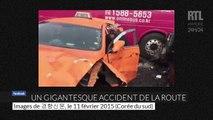 Corée du Sud : une centaine de véhicules pris dans un accident de la route