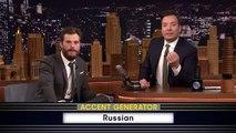 «Fifty Accents of Grey » Jamie Dornan chez Jimmy Fallon