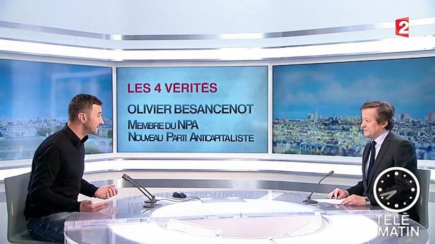 Olivier Besancenot dans les 4 Vérités du 13-02-2015
