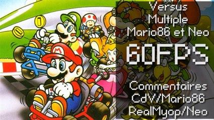 Speed Game [60FPS]:  Super Mario Kart Versus Multiple