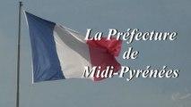 Visite de la préfecture de Midi-Pyrénées, préfecture de la Haute-Garonne 1er janvier 2013