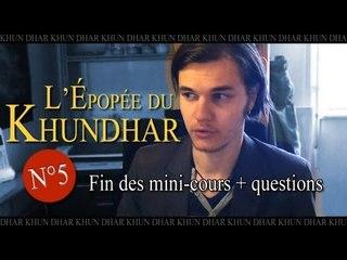 EDK #5 : Fin des mini-cours + questions fréquemment posées