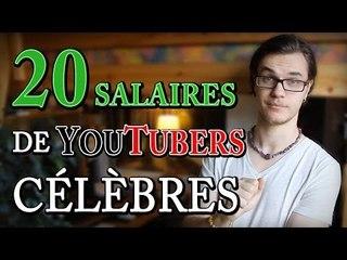 CHRIS : 20 Salaires de YouTubers Célèbres