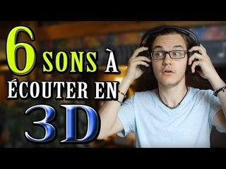 CHRIS : 6 Sons à Écouter en 3D