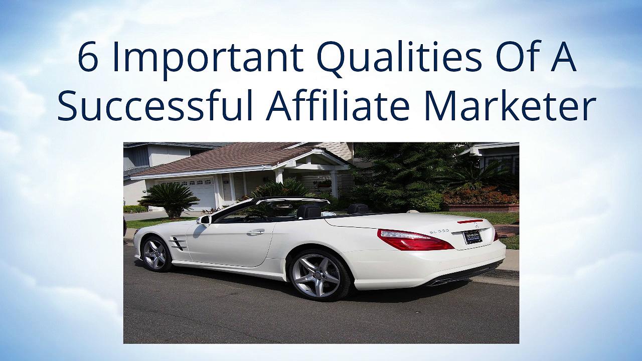 Affiliate Marketing | A Successful Affiliate Marketer