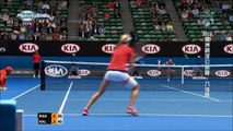 Ekaterina Makarova vs Simona Halep Australian Open 2015 Highlights
