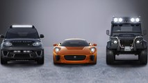 James Bond SPECTRE To Feature Jaguar C-X75, Range Rover Sport SVR And Land Rover Defender Big Foot   L