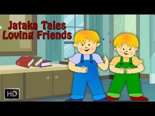 Jataka Tales - Loving Friends - Moral Stories for Children - Animated Cartoons/Kids