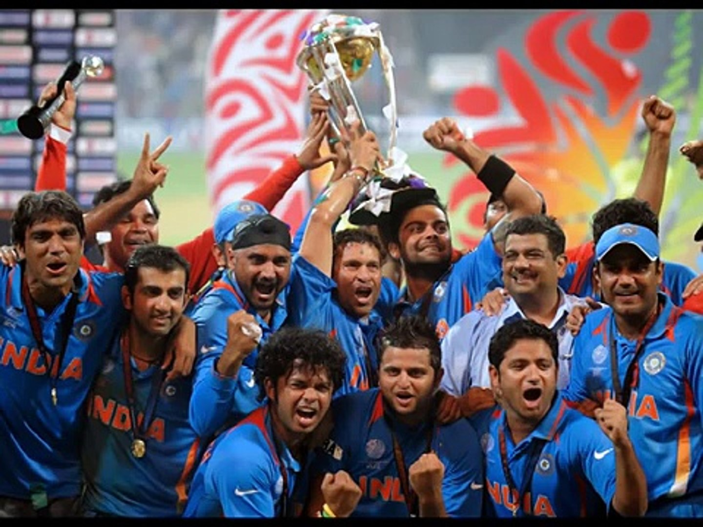 India Cricket World Cup 2011 Final Winning Moments
