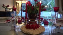 Un dîner rouge pour la saint-Valentin  - Nec plus Ultra