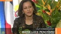 Interview de Marie-Luce Penchard au JT de RFO Polynésie française