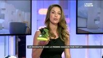 Clio Pajczer et Séan Garnier : la première chaussure de Foot en salle
