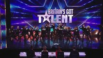 Refreshingly evil dance troupe The Addict Initiative Britains Got Talent 2014