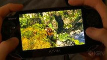 10 Minutes of Uncharted- Golden Abyss PS Vita Gameplay [Off Screen]
