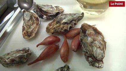 Les huîtres marinières d'Alain Passard !