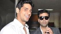 OMG! Sidharth Turns GAY For Karan Johar