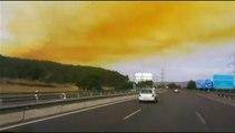 Espagne : un immense nuage toxique s'échappe d'une usine