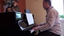 Elle a fait un bébé toute seule , jean jacques goldman version piano solo concert
