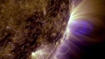 Voyage à la Surface du Soleil ♦ Solar travel [HD]