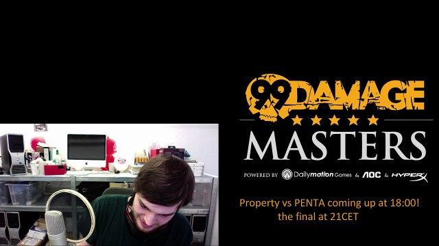 dabo0 - 99DMG Masters Playoffs property vs PENTA 18CET + the FINAL TSM vs the winner (REPLAY)