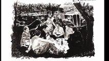 Exposition Le Paris d'antan par Jean-Jacques Marie. D'après l'oeuvre de Robert Doisneau. Encre de Chine