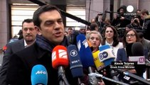 مسالة الديون اليونانية بند اساسي على جدول اعمال القمة الاوروبية المنعقدة في بروكسل