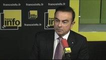 "Carlos Ghosn : ""Renault va augmenter de 40% sa production en France"""