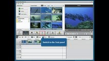 Easy To Use Video Editor Editing Program Software - How to Add Titles Credits - THEONLINEVIDEOMARKET