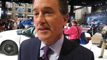 Optimistic Jeff Bracken, Lexus Group VP & GM at the 2015 Chicago Auto Show -- Bob Giles NewCarNews.TV