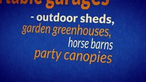 Portable Garages and Shelters for all your Outdoor Storage Needs