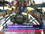 Drona inteligentă, invenţia unor elevi Români. Patru elevi de la un liceu din Eforie Sud au inventat o dronă care poate interveni la incendii.