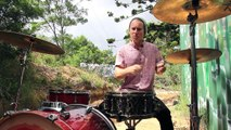 Outdoor Drum Covers - Mark Ronson ft. Bruno Mars - Uptown Funk