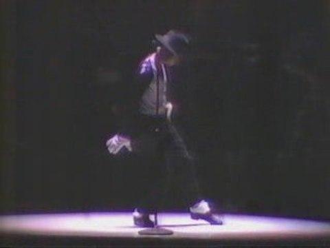 1987 MJ moonwalk in JAPAN