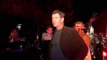 La maison de Pierce Brosnan à Malibu en flamme