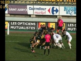 Rugby Pro D2 Albi Stade Montois