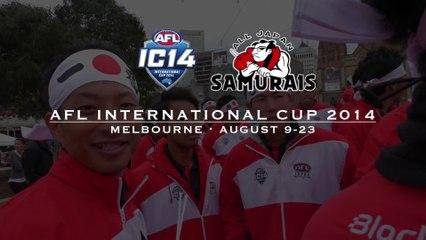 AFL International Cup 2014 Highlights - Japan Samurais / AFLインターナショナルカップ2014ハイライト 日本代表サムライズ
