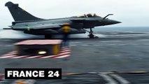 RAFALE - François Hollande confirme la vente de 24 avions Rafale à l'Égypte