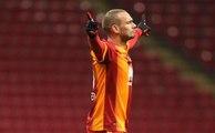 Le dernier missile de Wesley Sneijder lors de Galatasaray - Konyaspor