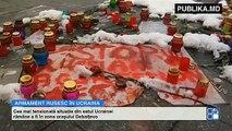 Rusia joacă la două capete. În toiul discuţiilor de la Minsk, 50 de tancuri, 40 de blindate şi 40 lansatoare de rachetă ruseşti au pătruns din Rusia în Ucraina.