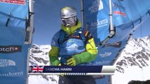 Run of Hamm Sascha (GBR) - Swatch Freeride World Tour 2015 in Vallnord Arcalis (AND) By The North Face