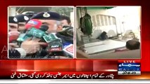 IG KPK Nasir Durrani Media Talk On Imambargah Attack – 13th February 2015