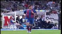 FC Barcelona- Debut oficial de Leo Messi