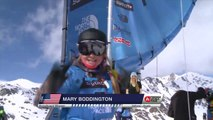 Run of Boddington Mary Celia (USA) - Swatch Freeride World Tour 2015 in Vallnord Arcalis (AND) By The North Face