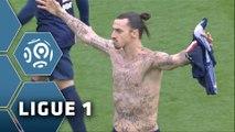 But Zlatan IBRAHIMOVIC (2ème) / Paris Saint-Germain - SM Caen (2-2) - (PSG - SMC) / 2014-15